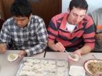 BHS and Chinese Exchange Making Dumplings II