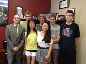 BHS National Merit Scholarship Semifinalist, 2014