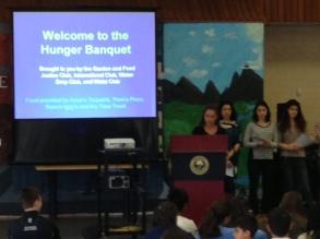 Hunger Banquet, 2014