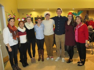 BHS Student at BSC Holiday Special Luncheon