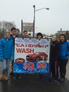 Belmont High School Car Wash 14-15