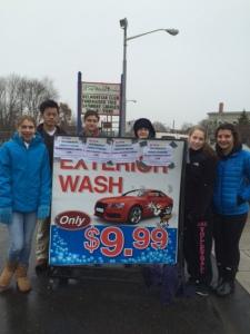 Belmont High School Car Wash 14-15
