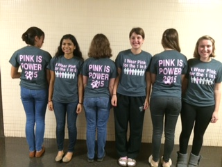 Breast Cancer Shirts, 2015