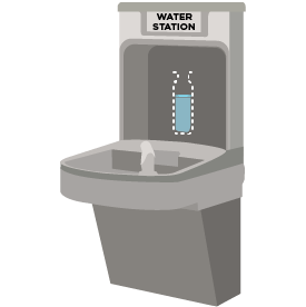 water fountain clip art